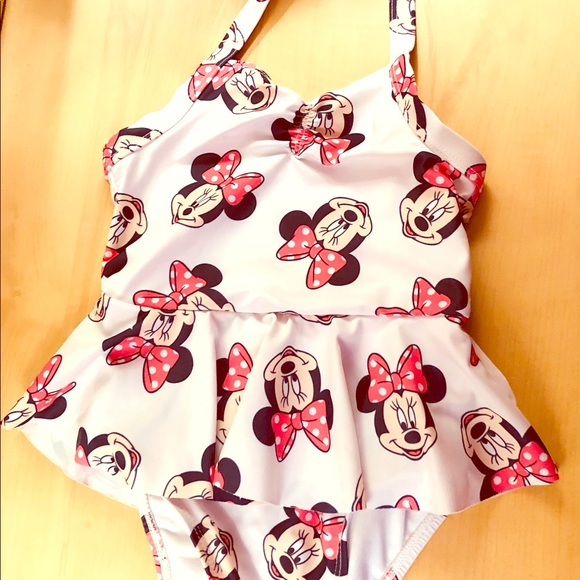 15d30b32ba Old Navy Disney 4T Minnie Mouse bathing suit. M_5c813a5cc89e1de20a84d70d